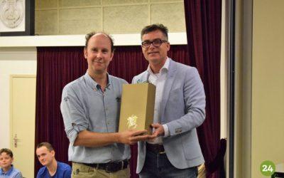 2016 Patrick van Zutven 15 jaar dirigent jeugdorkest